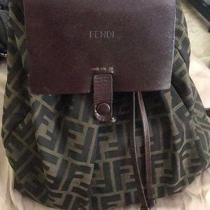 Fendi FF Zucca monogram book bag